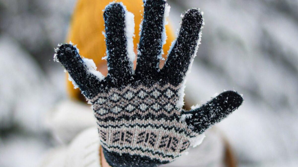 une main dans un gant